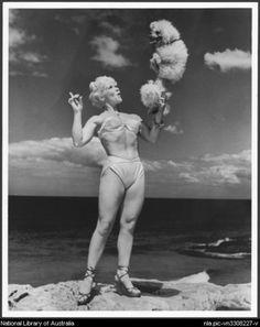 australia Bondi beach girl 1962