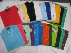 MY HUSBAND OWNS EVERY COLOR OF POLO IMAGINABLE!