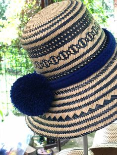 Excited to share the latest addition to my shop: Fedora hats / Blue Sombrero Straw Summer Hat with Pompoms / Formal Hat / Wide Brim Straw Hat / Beach pom-poms Hat / Sun Hats / Women hats Fall Fashion Trends, Fashion Edgy, Fashion Spring, Summer Hats For Women, Shops, Perfect Mother's Day Gift, Unique Gifts For Her, Brim Hat, Womens Fashion Online