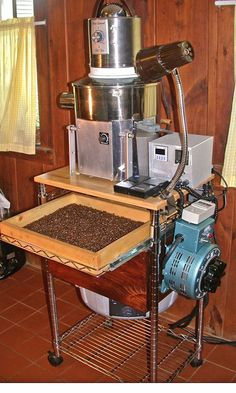 For the real coffee DIY'er: How to build a coffee roaster from scratch. No popcorn popper nonsense here!