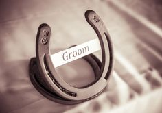 HorseShoe Groom Table Setting   #OurWedding <3 #LoveIsInTheAir #Weddingbells english-country-garden-wedding