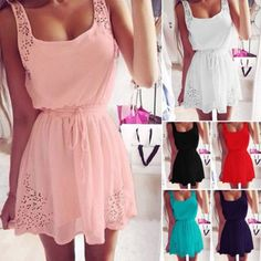 Sexy-Women-Summer-Casual-Sleeveless-Party-Evening-Cocktail-Short-Mini-Dress-New