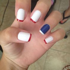 Easy Diy 4th of July Nails for Kids