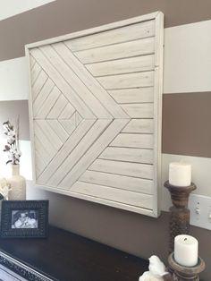 Wood Wall Art, Shabby Chic Wall Art, Reclaimed Wood Wall Art, Nursery Decor,  Living Room Wall Art, Boho Wall Art, Modern Wall Art