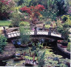 I would love this bridge in my yard
