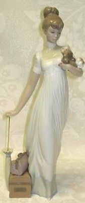 Lladro Traveling Companions Lady