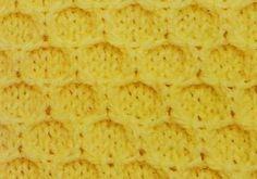 Inverted Honeycomb Stitch