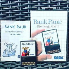 #Sega #MasterSystem #BankPanic #CIB #RetroGamer #CIBSunday #SegaCard #SegaMasterSystem #ConsoleGaming #ConsoleGamer #Arcade #ArcadePort #PAL #Dortmund #retromaniac http://ift.tt/2pLM5P2