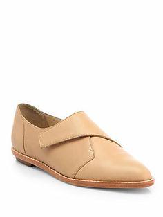 Loeffler Randall Grace Leather Loafers