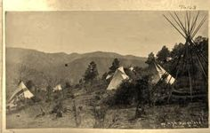 American Indian's History: Photos of the Apache Village in Tularosa Canyon, New Mexico