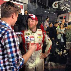 at Daytona Daytona 500, Dale Earnhardt Jr, Nascar, Victorious, Champion, Action, Sports, Hs Sports, Group Action