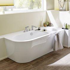 Bildergebnis Für Badewanne Halb Freistehend
