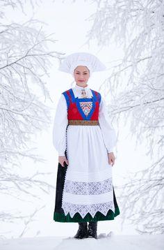 folkthings:    Bunad of Fana, NorwayPhoto: Laila Duran ©