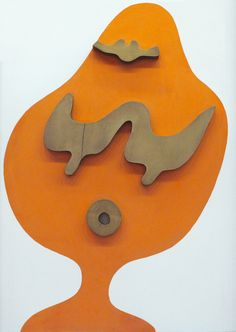 Jean Arp Jean Arp, Cool Artwork, Unique Art, Paint Colors, Dinosaur Stuffed Animal, Alice, Objects, Carving, Tapestry