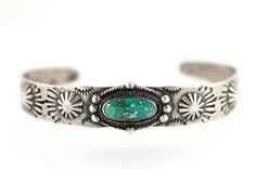 Navajo Sterling Silver & ...