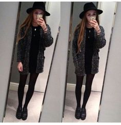 cardigan knit cute cardigan grunge grunge top grunge wishlist alternative tumblr outfit tumblr girl on point on point clothing trendy fashion inspo stylish style popular sport suit fedora dark