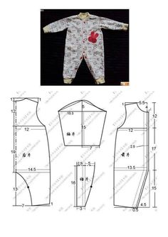 Best 10 This schemes showing us how to design baby dress s… – SkillOfKing. Baby Dress Design, Baby Girl Dress Patterns, Baby Clothes Patterns, Dress Sewing Patterns, Baby Patterns, Clothing Patterns, Sewing Baby Clothes, Girl Doll Clothes, Baby Outfits