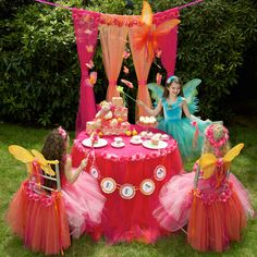 Fairy Princess Party Package - Convertible Tutu Chair Cover, Headpiece and Fairy Wings Fairy Birthday Party, Birthday Ideas, Birthday Parties, Princess Theme Party, Princess Birthday, Fairy Tea Parties, Tea Party, Fantasy Party, Party Themes