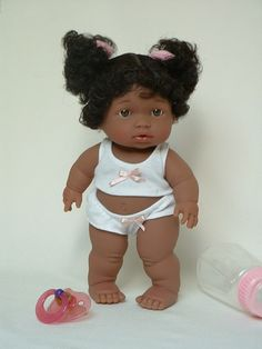 Baby Steps - an African American Toddler Doll