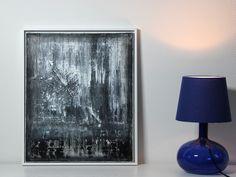 Acrylmalerei - Abstrakte Kunst auf Leinwand 50cm x 60cm - ein Designerstück von simeART bei DaWanda
