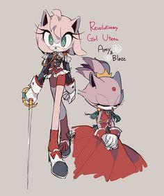 Utena by Hanybe Sonic The Hedgehog, Silver The Hedgehog, Shadow The Hedgehog, Amy Rose, Sonic Fan Art, Sonamy Comic, Hiro Big Hero 6, Sonic Funny, Gamers Anime