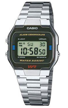 483ccffdcf56 Reloj Casio cronógrafo hombre A163WA-1QES. ExageradoPlataComprasReloj  DigitalRegalos OriginalesRelojes Para HombresReloj ...