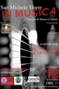 Venerdì la Rigoletto Records sbarca a San Michele Tiorre: sul palco Padovani, Baruffini e Cattabiani