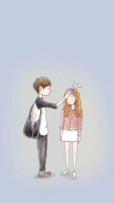 Cheese in the trap, seol is so cuteee Cute Couple Art, Cute Couples, Goblin Art, Cute Couple Wallpaper, K Wallpaper, Cellphone Wallpaper, Korean Art, Love Illustration, Couple Drawings