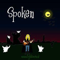 Griezelliedje over Spoken van Tijl Damen. Echt Halloweenliedje. Tekst en akkoorden: http://tijldamen.nl/kinderliedjes/griezelen/spoken