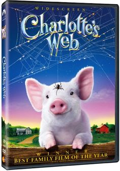 Charlotte's Web DVD (I love this movie and I have seen in a zillion times and it always makes me cry:-)
