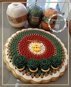 Crochet Top Outfit, Crochet Blouse, Crochet Rug Patterns, Crochet Designs, Napkins Set, Doilies, Coasters, Rugs, Holiday Crochet