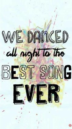 Day 9 {song I can dance too}: Best Song Ever by One Direction