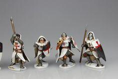 Games Workshop Warhammer Bretonnian Men at Arms Bretonnia Head Bit New Spare B5
