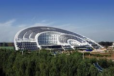 Solar Dominance, China    The Sun-Moon Mansion is headquarters for what could become the biggest solar energy production base in the world, or the Silicon Valley of solar.