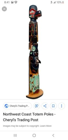 Totem Poles, Trading Post, North West, Skateboard, Learning, Skateboarding, Totems, Skate Board, Studying