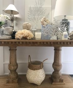 "321 Likes, 7 Comments - S T Y L E M Y H O M E (@stylemyhome_australia) on Instagram: ""Chic coastal palette with a touch of crystal today in store  #Hamptons #hamptonstyle"""