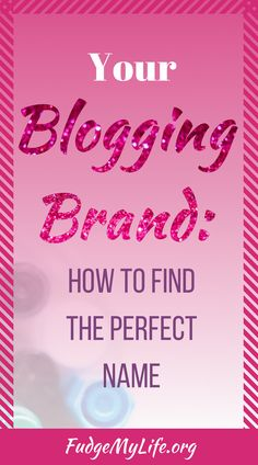Branding your blog is incredibly important, and the first step in that is creating your blog name. But how do you find a good one? How can you know if your domain name is available? Well I'm here to help you out. There are 7 things you need to remember and use when you are trying to find a good blog name or a good domain name. This will help you in finding the perfect blog name ideas for your new blog or new website. - 7 Tips on How to Choose Your Blog Name #blogging #branding…