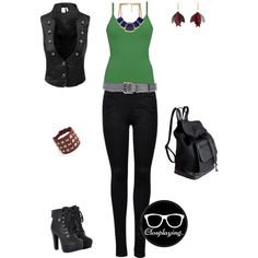 """""""Gamora - Guardians of the Galaxy"""" by closplaying on Polyvore"""