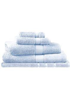 Egyptian luxury breeze towel range