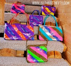 How to make Duct Tape Purses