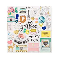 Maggie Holmes Gather Chipboard Stickers at Studio Calico