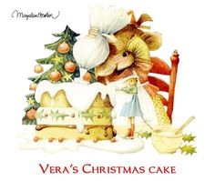 Marjolein Bastin • Vera's Christmas Cake