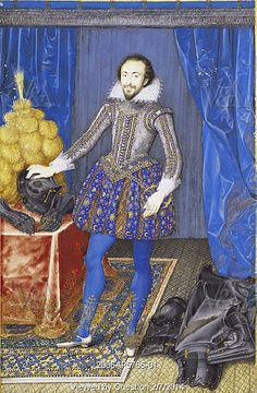 Richard Sackville, 3rd Earl of Dorset, by Isaac Oliver. England, 1616. One of three: VAM