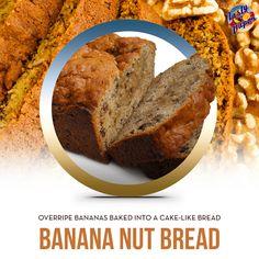 The sweet taste of overripe bananas baked into a delightful cake bread. #vape #ejuice