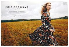 17 ideas for fashion editorial photography outdoor fields Fashion Model Poses, Fashion Shoot, Editorial Fashion, Countryside Fashion, Country Fashion, New Fashion Trends, Trendy Fashion, Fashion Tips, Women's Fashion