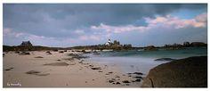 Lumière printanière sur les côtes nord du Finistère. Brignogan-Plages (phare de Pontusval) © Tranchig - 04 avril 2013  | Finistère Bretagne Avril, 2013, Brittany, Coast, Photos, France, Beach, Water, Outdoor