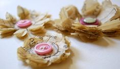 sewing pattern flowers