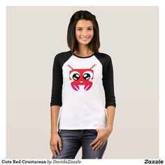 Cute Red Crustacean Women's Tee Available on many products! Hit the 'available on' tab near the product description to see them all! Thanks for looking!  @zazzle #art #cute #cartoon #crustacean #lobster #crab #drawing #digital #red #sweet #nice #friend #women #men #kids #clothes #fashion #style #apparel #tee #tshirt #hoody #sweatshirt #shop #gift #idea #shopping #buy #sale
