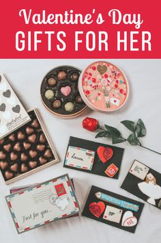 Valentine's Day Gifts For Her: Romantic, Sexy & Cute - underwear, chocolate, rosé, jewellery and more!