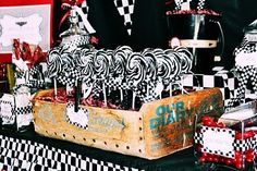 cars inspired party